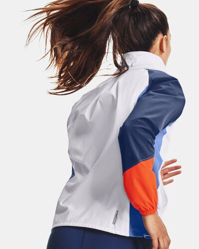Women's UA RUSH™ Woven Colorblock Full-Zip