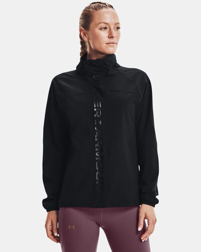 Women's UA RUSH™ Woven Full-Zip Jacket