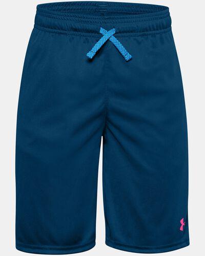 Boys' UA Prototype Wordmark Shorts