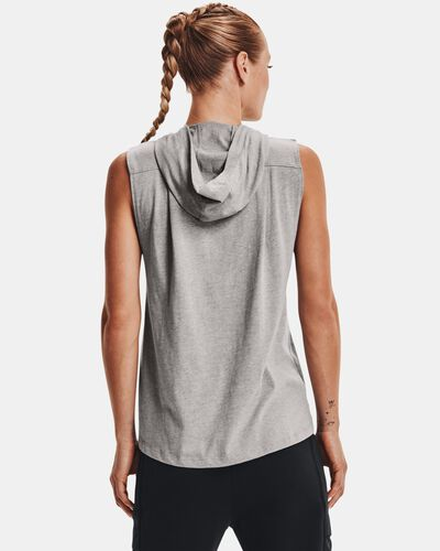 Women's Project Rock Graphic Hooded Tank