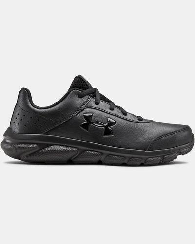 Grade School UA Assert 8 Uniform Synthetic Running Shoes