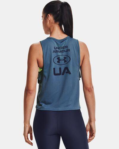 Women's HeatGear® Armour Muscle Mesh Tank