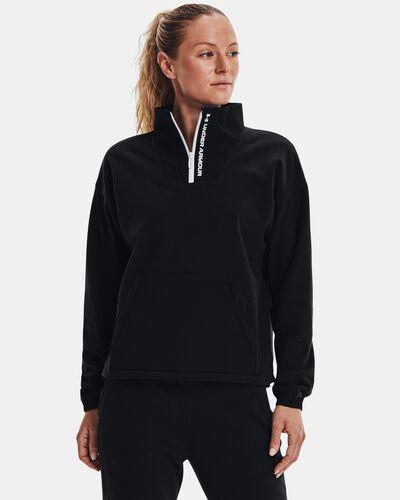Women's UA RUSH™ Fleece ½ Zip Hoodie