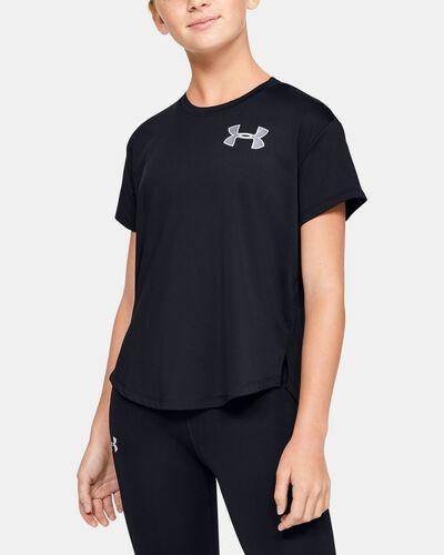Girls' HeatGear® Armour Short Sleeve