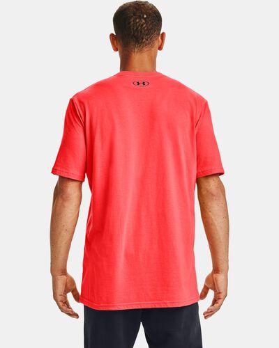 Men's UA Basketball Photoreal Short Sleeve