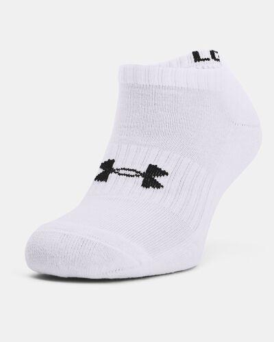 Unisex UA Core No Show 3-Pack Socks