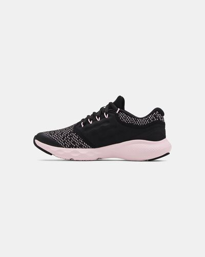 Girls' Grade School UA Charged Vantage Knit Running Shoes