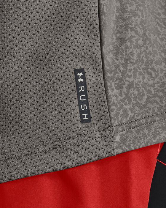 Men's UA RUSH™ HeatGear® 2.0 Emboss Short Sleeve image number 6