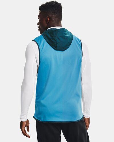 Men's Armour Fleece® Storm Hooded Vest