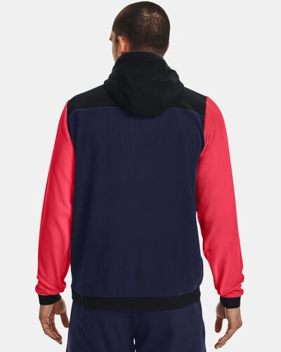 Men's UA RUSH™ Fleece Full-Zip Hoodie