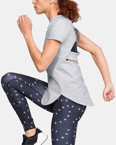 Women's UA Breathelux Stretch Open Back Short Sleeve