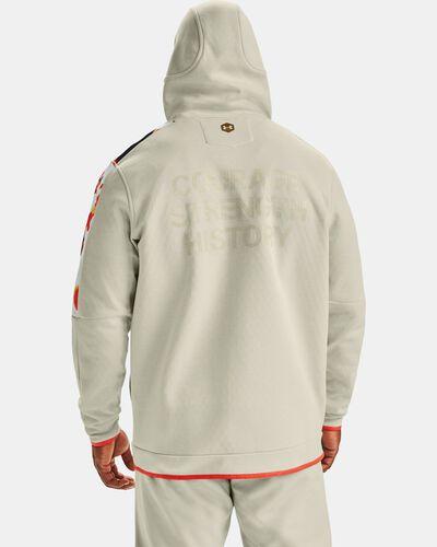 Men's UA RECOVER™ Fleece Upstream Camo Full Zip