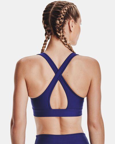 Women's Armour® Mid Crossback Graphic Sports Bra