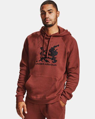 Men's UA Rival Fleece Box Logo Hoodie