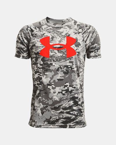 Boys' UA Tech™ Big Logo Printed Short Sleeve