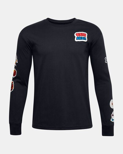 Boys' UA Graphic Long Sleeve