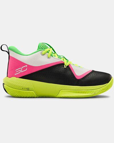 Grade School UA SC 3ZER0 IV Basketball Shoes