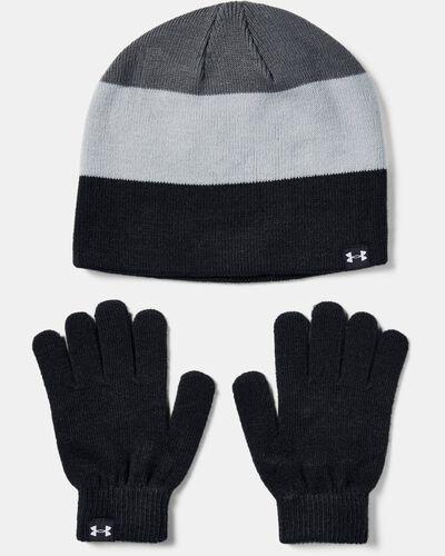 Boys' UA Beanie Glove Combo