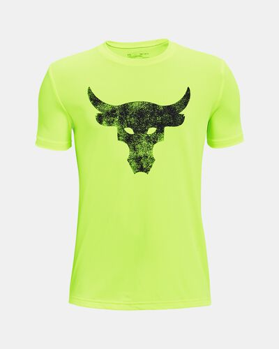 Boys' Project Rock Brahma Bull Short Sleeve