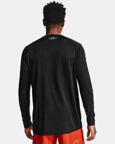 Men's UA Tech™ Triple Logo Long Sleeve