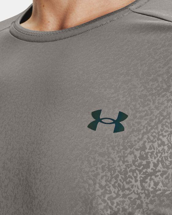 Men's UA RUSH™ HeatGear® 2.0 Emboss Short Sleeve image number 5