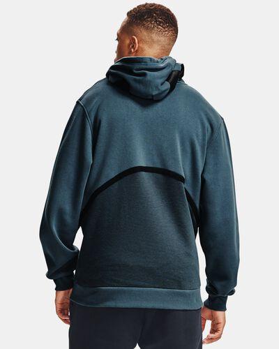 Men's UA Rival Fleece AMP Full Zip Hoodie