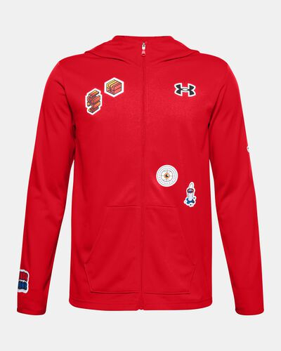 Boys' UA Hoops Warm Up Jacket