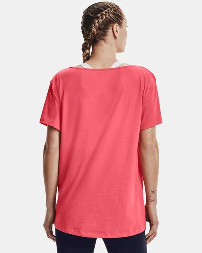 Women's UA Oversized Wordmark Graphic T-Shirt