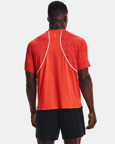 Men's UA Iso-Chill Run 200 Print Short Sleeve